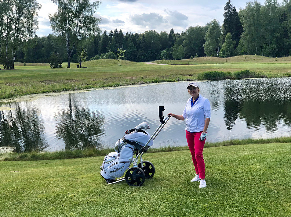 гольф Наталья Колесникова