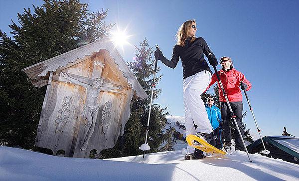 Походы на снегоступах в Юлляс !