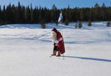 Зимний гольф