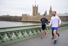 Places for running in London