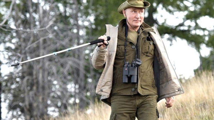 Владимир Путин отметил свой день рождения в сибирской тайге