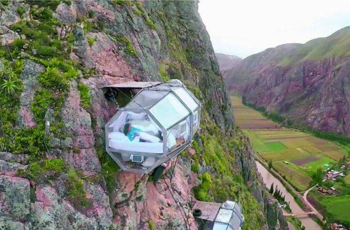 Заоблачный» отель Skylodge в Перу