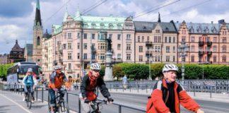 «BEST OF STOCKHOLM» на велосипеде