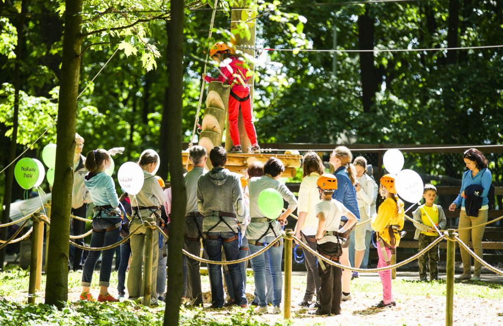 Активные школьные каникулы в Norway Park