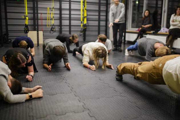 фитнес студия планка