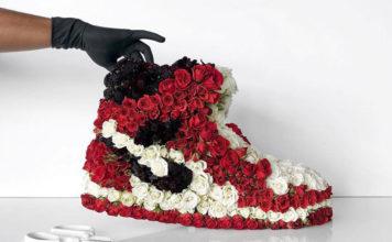 flowers sneakers