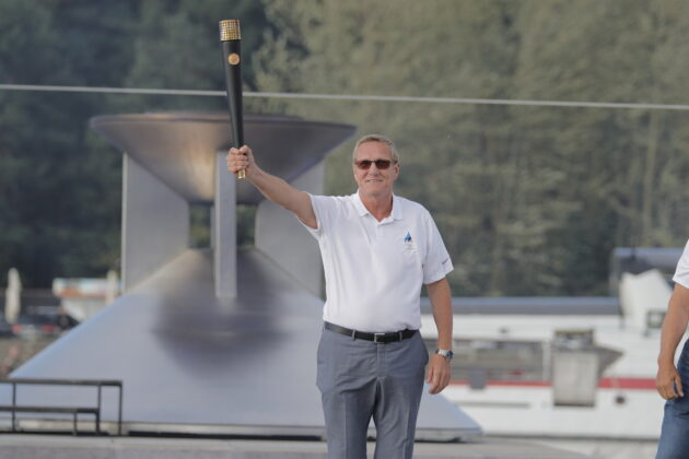 олимпийский огонь в таллине