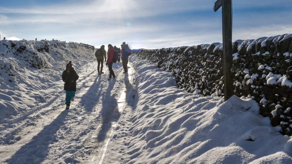 hiking trails