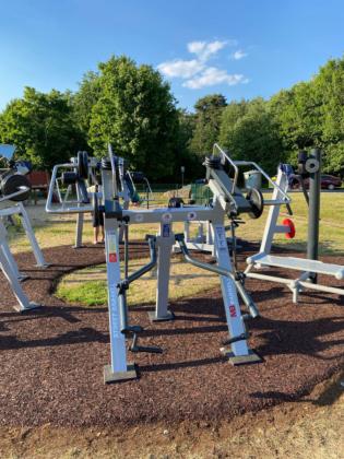 outdoor fitness zones in Tallinn